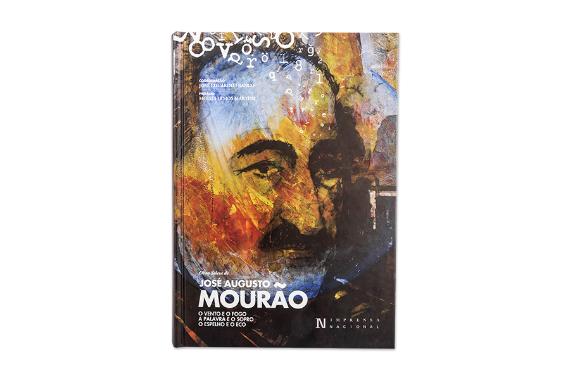 Photo 1 of product Obra Seleta de José Augusto Mourão. O Vento e o Fogo. A Palavra e o Sopro. O Espelho e o Eco