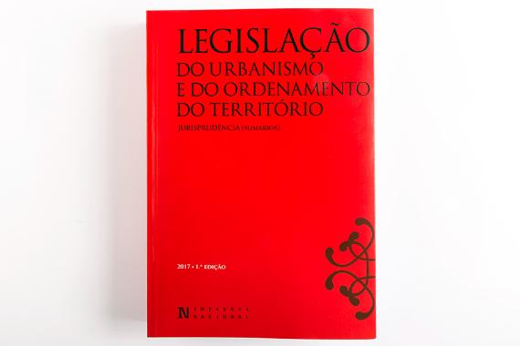 Photo 1 of product Legislação do Urbanismo e do Ordenamento do Território