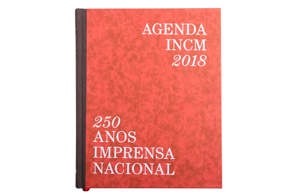 Foto 1 do produto Agenda 2018 - 250 Anos da Imprensa Nacional