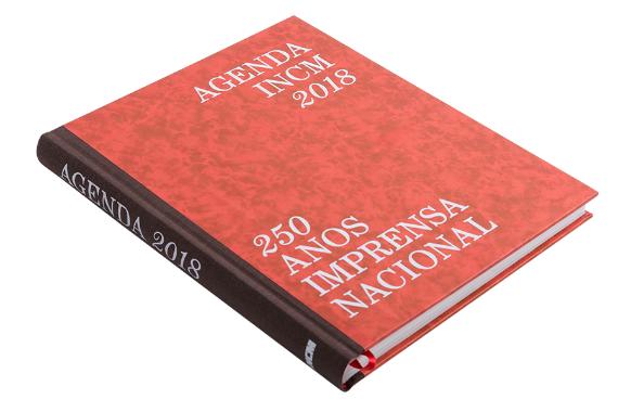 Foto 2 do produto Agenda 2018 - 250 Anos da Imprensa Nacional