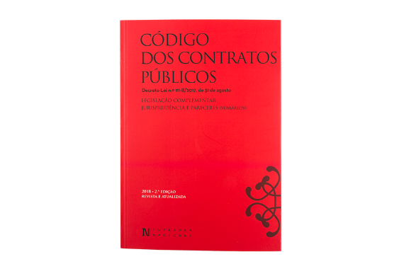 Photo 1 of product Código dos Contratos Públicos - 2ª Edição Revista e Atualizada