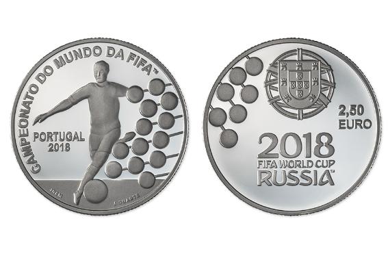 Foto 1 do produto Campeonato do Mundo da FIFA 2018 (Prata Proof)