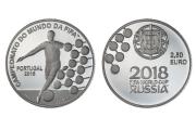 Campeonato do Mundo da FIFA 2018 (Prata Proof)