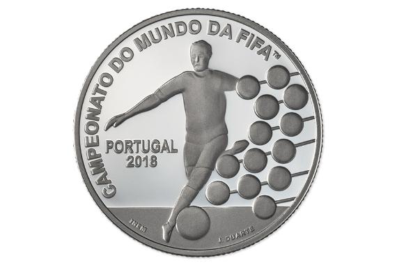 Foto 2 do produto Campeonato do Mundo da FIFA 2018 (Prata Proof)
