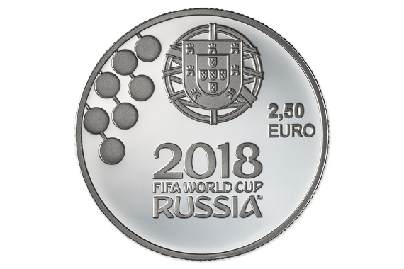 Foto 3 do produto Campeonato do Mundo da FIFA 2018 (Prata Proof)