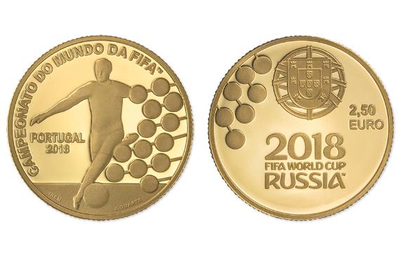 Foto 1 do produto Campeonato do Mundo da FIFA 2018 (Ouro Proof)