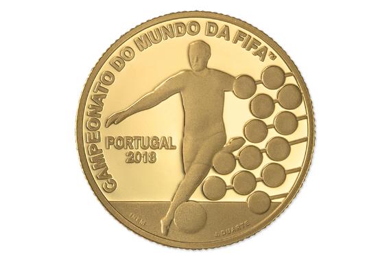 Foto 2 do produto Campeonato do Mundo da FIFA 2018 (Ouro Proof)