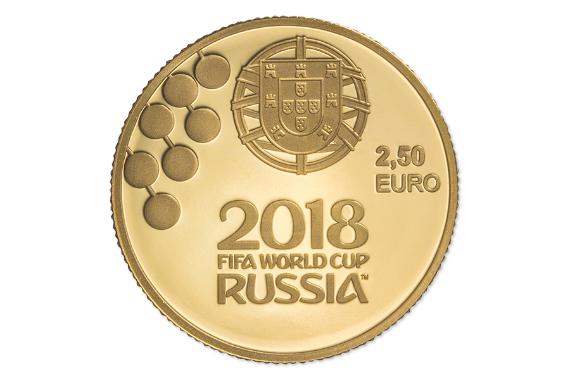Foto 3 do produto Campeonato do Mundo da FIFA 2018 (Ouro Proof)