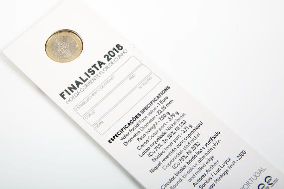 Foto 4 do produto Moeda Finalista 2018 (FDC)