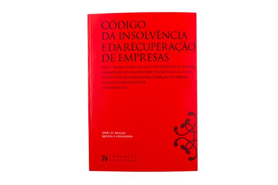 Foto 1 do produto Código da Insolvência e da Recuperação de Empresas - 3.ª edição revista e atualizada