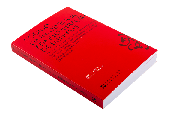 Foto 2 do produto Código da Insolvência e da Recuperação de Empresas - 3.ª edição revista e atualizada