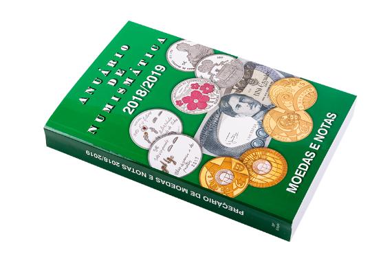 Foto 2 do produto Anuário de Numismática 2018-2019