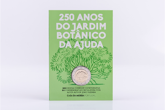 Photo 4 of product 250Th Anniversary Of Ajuda Botanical Garden, Lisbon (BU)