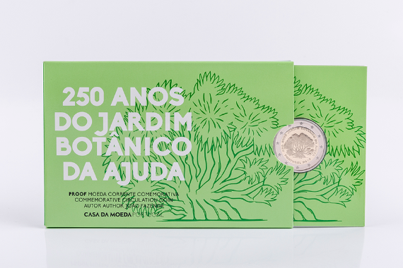Photo 4 of product 250Th Anniversary Of Ajuda Botanical Garden, Lisbon (Proof)