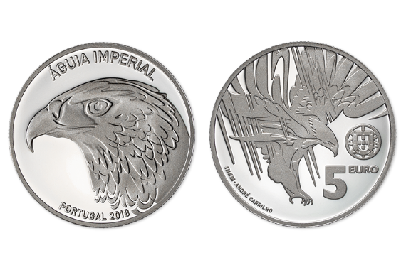 Foto 1 do produto A Águia Imperial (Prata Proof)