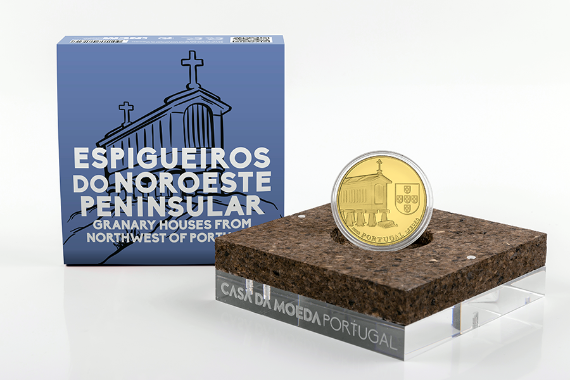 Photo 4 of product Granary Houses from Northwest of Portugal (Gold Proof)