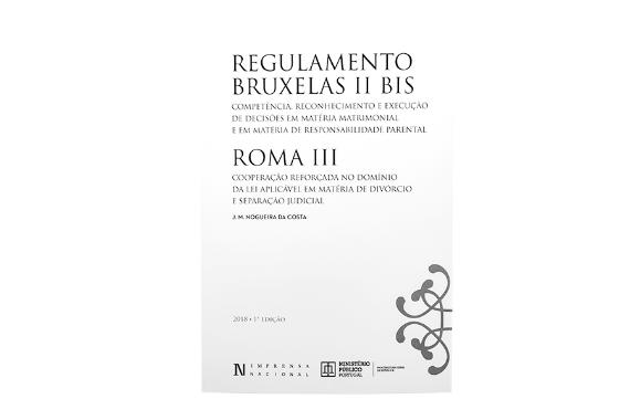 Foto 1 do produto Regulamento Bruxelas II BIS ROMA III