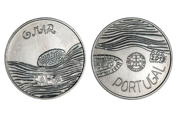 Foto 1 do produto Desenhar a Moeda - O Mar (Normal)