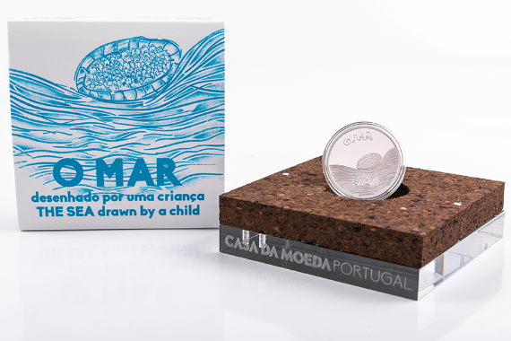 Photo 4 of product The Sea Drawn By A Child (Silver Proof)