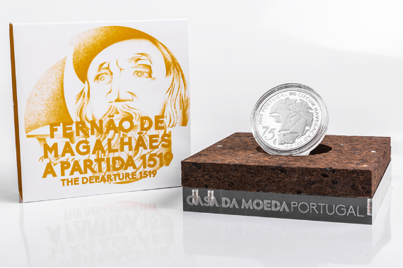 Photo 4 of product 500TH Anniversary Of Magellan Circun-Navigation - The Departure 1519 (Prata Proof)