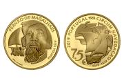V Centenário Da Viagem De Circum-Navegação De Fernão De Magalhães - Partida 1519 (Ouro Proof)