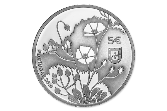 Photo 3 of product Endangered Flora Species - Tuberaria Major (Silver Proof)