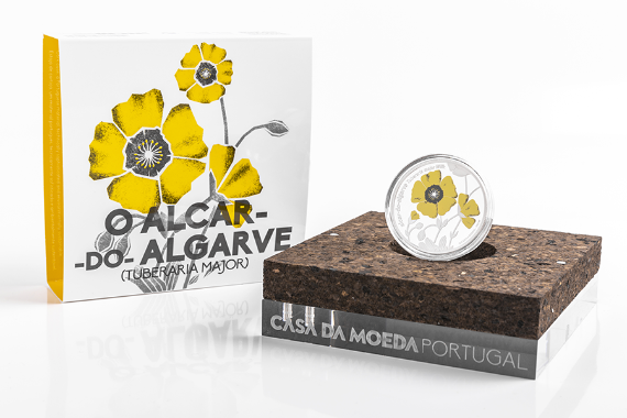 Photo 4 of product Endangered Flora Species - Tuberaria Major (Silver Proof)