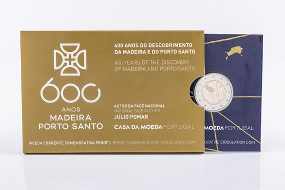 Photo 4 of product 600th Anniversary Of The Discovery Of The Madeira Archipelago (Proof)