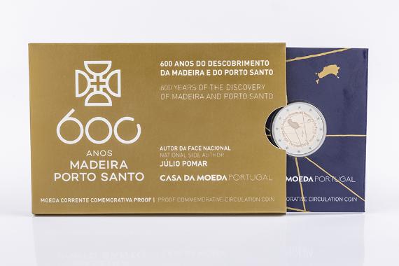 Foto 4 do produto 600 Anos Do Descobrimento Da Madeira E Porto Santo (Proof)