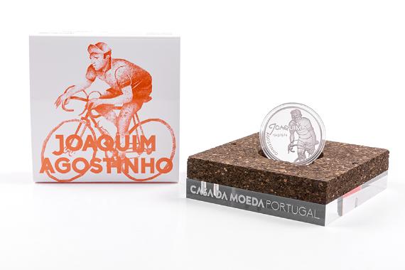 Foto 4 do produto Ídolos Do Desporto - Joaquim Agostinho (Prata Proof)