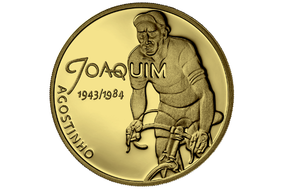 Photo 2 of product Sport Idols - Joaquim Agostinho (Ouro Proof)