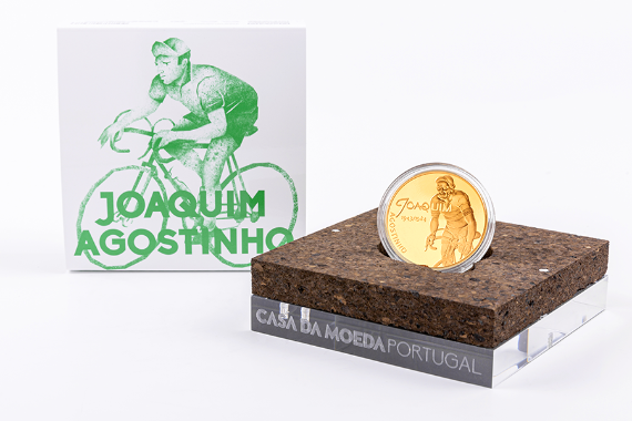 Photo 4 of product Sport Idols - Joaquim Agostinho (Ouro Proof)
