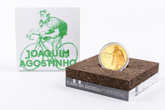 Foto 4 do produto Ídolos Do Desporto - Joaquim Agostinho (Ouro Proof)