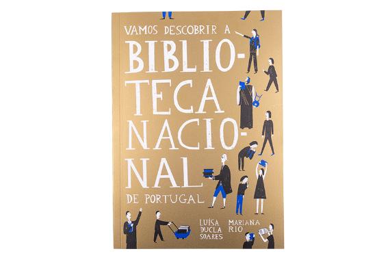 Foto 1 do produto Vamos Descobrir a Biblioteca Nacional de Portugal
