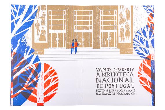 Foto 3 do produto Vamos Descobrir a Biblioteca Nacional de Portugal