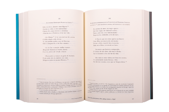 Foto 5 do produto Sonetos, Sátiras, Odes, Epístolas, Idílios, Apólogos, Cantatas e, Elegias: Volume I - Tomo I e Tomo II