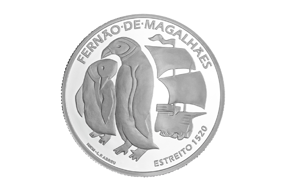 Photo 2 of product 5th Centenary of Ferdinand Magellan Circumnavigation - The Passage of the Strait 1520 (Silver Proof)