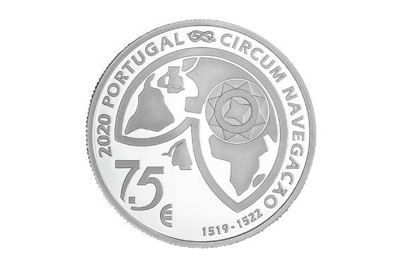 Photo 3 of product 5th Centenary of Ferdinand Magellan Circumnavigation - The Passage of the Strait 1520 (Silver Proof)