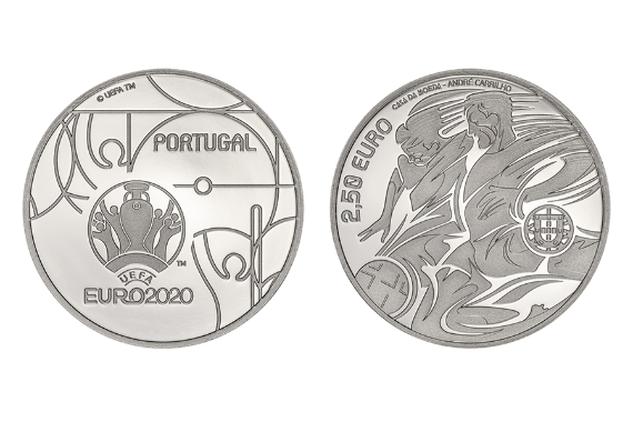Photo 1 of product UEFA Euro 2020 (Silver Proof)