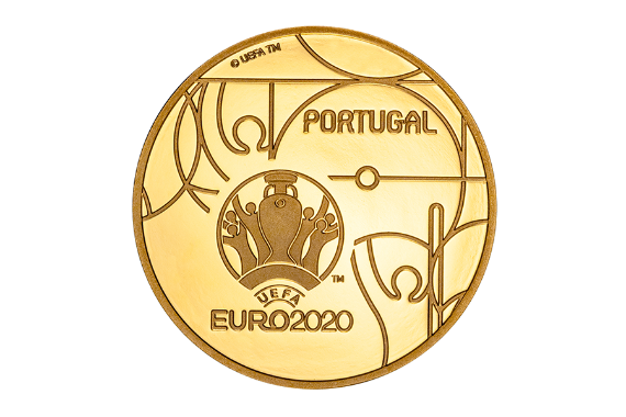 Photo 2 of product UEFA Euro 2020 (Gold Proof)