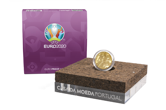 Photo 4 of product UEFA Euro 2020 (Gold Proof)