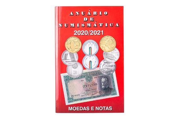 Foto 1 do produto Anuário de Numismática 2020-2021