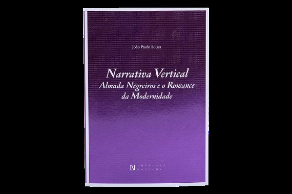 Foto 1 do produto Narrativa Vertical - Almada Negreiros e o Romance da Modernidade