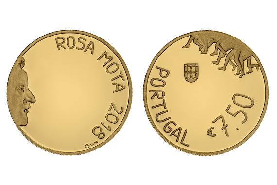 Photo 1 of Rosa Mota (Ouro Proof)