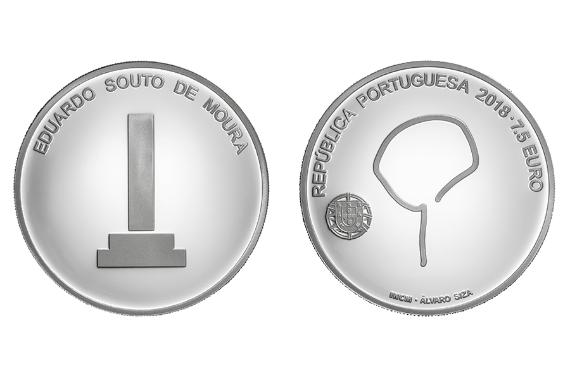 Foto 1 do produto Arquiteto Souto Moura (prata proof)