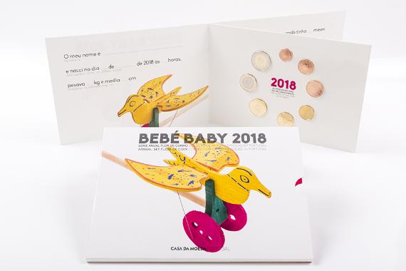 Photo 1 of Série Anual 2018 - Bebé (FDC)