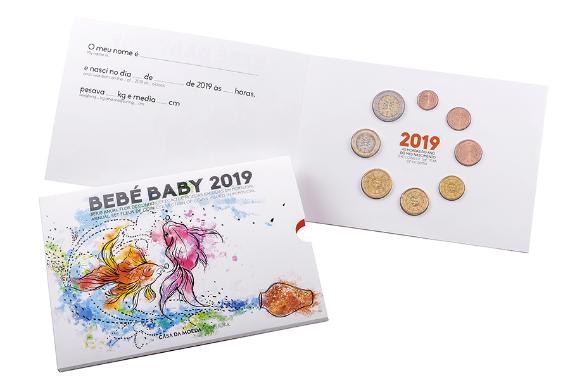 Foto 1 do produto Série Anual 2019 - Bebé (FDC)