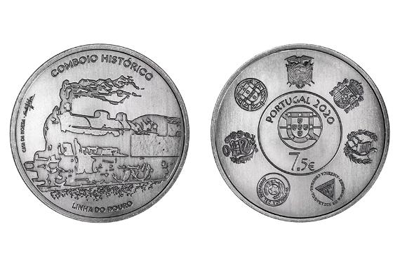 Foto 1 do produto Caminhos-de-Ferro – Linha do Douro (prata normal)