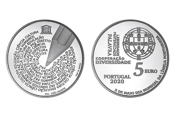 Foto 1 do produto Dia Mundial da Língua Portuguesa (prata proof)