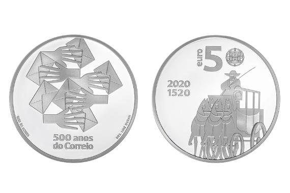 Foto 1 do produto 500 Anos do Correio (prata proof)